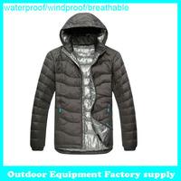 New Arrival fashion keep warm Outdoor Windbreaker waterproof breathable duck Padded Sport down coat men winter down jacket