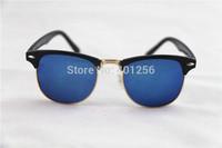 High Quality 2013 Retail Fashion men Women The Sun Glasses Retro Inspired Club Elegant Metal Star Master Sunglasses Women 3016