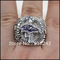 Free Shipping High Quality Replica Sports 2012 XLVII Baltimore Championship Ring