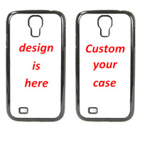 christmas gift free shipping custom printing TPU+PC case for samsung galaxy s3 s4, OEM DIY 20pcs mix 2 designs china post