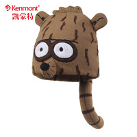 free shipping 2013 new Kenmont fox hat parent-child cap cartoon hat ear protector cap animal cap knitted hat women hat km-4832
