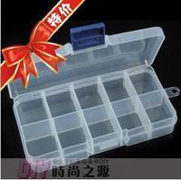 11pcs Diy tool diamond box  10 transparent plastic box