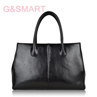 Star with genuine leather handbag OL commuter fashion handbag female bag ladys bag