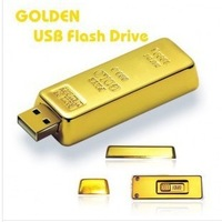golden 4GB USB flash drive memory stick usb 2.0 transformer usb flash drives gift with high quality free shipping