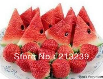 Wholesales New Cartoon Watermelon/strawberry model usb 2.0 memory flash stick pen thumbdrive/novelty item