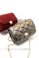 fashion cross-body one shoulder plaid women's metal buckle small bag mobile phone coin purse