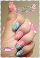 New arrival nail art sticker watermark luminous nail art nail art supplies