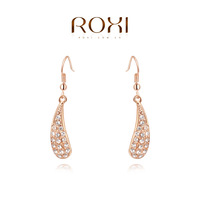 ROXI Christmas fashion Earrings,rose gold plated genuine Austrian crystals 100% handmade fashion jewelry,2020233330