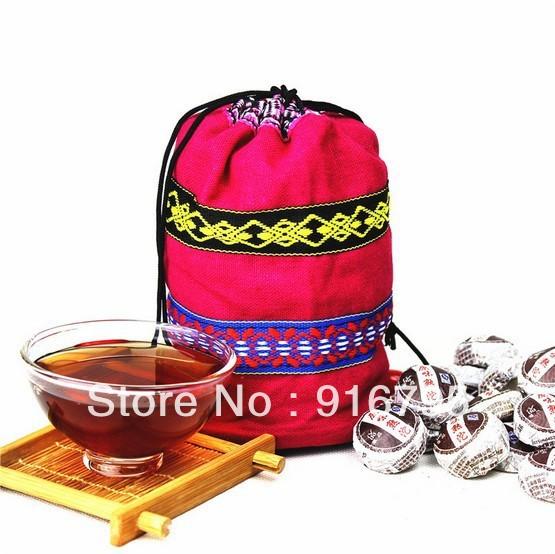 Free Shipping 50pcs 230g Plain boiled tea Flavor Pu er Tea Yunnan Puer tea weight lose