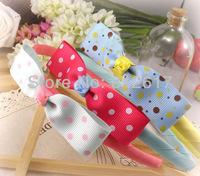 Girl's Cute girls children ribbon headwear clips headband free shipping hot sell