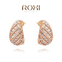 ROXI Christmas luxury Earrings,gold plated genuine Austrian crystals 100% handmade fashion jewelry,2020276330