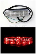 Free Shipping Clear LED Brake Running Tail Light for Suzuki ATV DR LTZ LT King Quad Runner(China (Mainland))