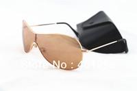 Fashion Sunglasses Men Women Sun Glasses wholesale, Brand Designer Sunglasses Sport gold frame brown lens 3211