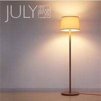 Hyundai IKEA designer wood natural wood floor lamp floor lamp Mascagni