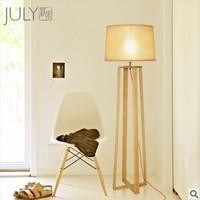 Designer IKEA designs a sense of simple and stylish wood wood floor lamp floor lamp Jazz
