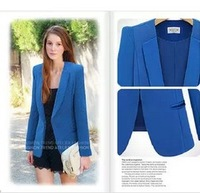 L-5XL Fashion Hot 2013 Plus Size Clothing Slim Women's Fat MM Blazer Suit long-Sleeve OL Outerwear