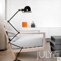RH designer models retro style floor lamp LOFT industrial warehouse French horn five floor lamp