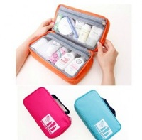 Travel Storage Bag Portable Shower Case Cosmetic Bags Sorting Purse Make Up Organizer Case