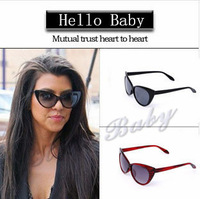 Free Shipping The Cat's Eye Shape Sunglasses Retro Glasses Frame More Color