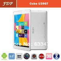 DHL free  popular Cube U39GT tablet pc Android 4.2 Quad Core  Dual Camera 5.0MP wifi  9 inch  2GB RAM 16GB Bluetooth mid