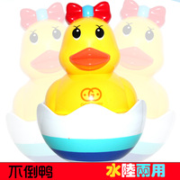 8655 water dual-use not inverted duck bath toys tumbler toy 0.3 Roly-poly toy