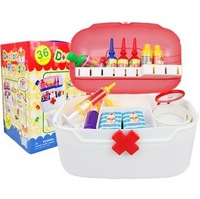 Doctor medicine cabinet children toys play 36 pieces of medical case simulation medicine cabinet