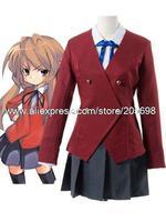 Toradora Aisaka Taiga Cotton Cosplay Costume anime halloween Christmas Free Shipping