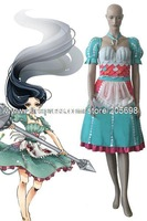 Alice madness return dress is Alice 2 piece Cosplay Costumes anime halloween Christmas Free Shipping
