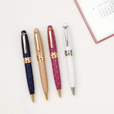 Luxury antennashop gift box set metal pen ballpoint pen table talk(China (Mainland))