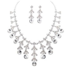 Urged sets chain bride marriage accessories necklace wedding accessories the bride necklace 012