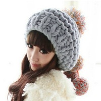 Handmade sphere fashion winter female autumn and winter yarn casual knitted hat