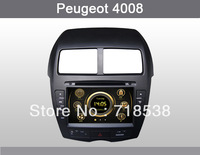 8 Inch Car DVD Player GPS Navigation Radio for Peugeot 4008 car entertainment with Bluetooth FREE 8G SD Card