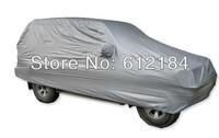 High Quality Universal Suit Car Auto SUV Covers anti-Dust Rainproof Resist Snow Silver 4.65X 1.8 X1.68M