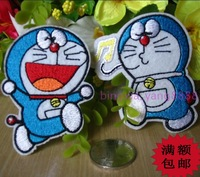 Embroidery adhesive fabric diy clothes patch applique clothes accessories DORAEMON