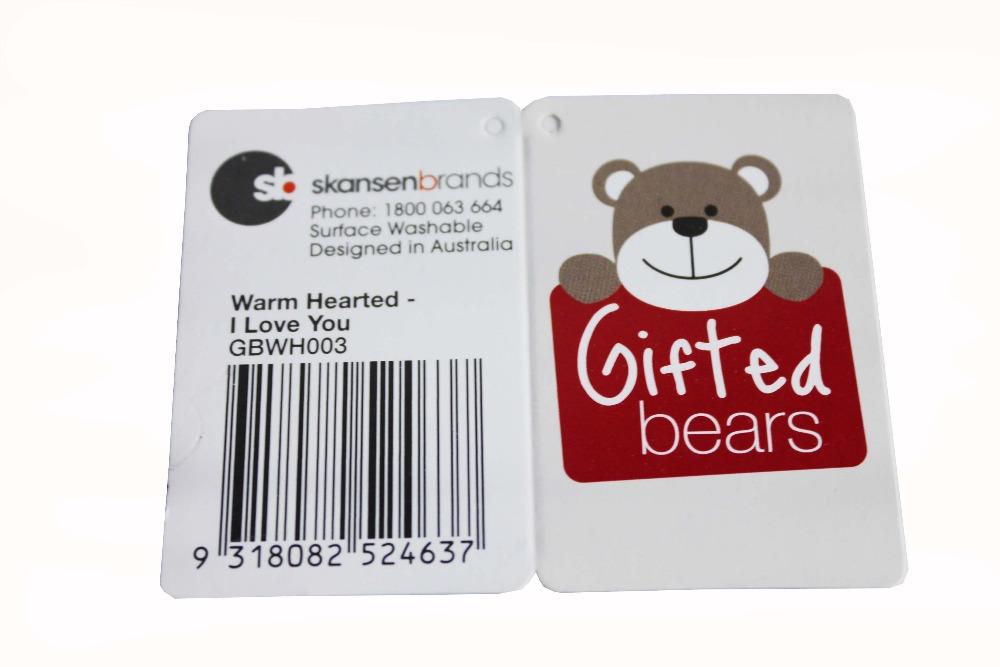 2013 custom new design hang tags manufacturer(China (Mainland))