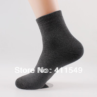 (L&C)cotton winter warm man socks Lace, dot  men sock , wool sock (10pcs=5pairs) /lot, mix color  socks  fit 39-44 size13-103