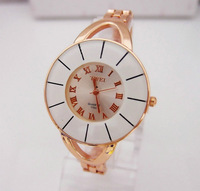 Hot sale Brand ceramic Ladies bangle bracelet watches women dress wrist watch Rose Gold High quality quartz wristwatch TW011