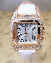 Supernova sale Casual Watch brand watches hours Crystal women dress quartz wristwatch High quality wristwatches go055(China (Mainland))