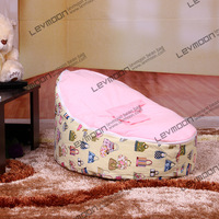 Bean Bag Sofa Bed Covers Lazy Lounge Chair Include Two Upper Layers For Sitting & Sleeping Baby Furniture Free Shipping