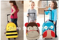2013 hot Brand New Trolley schoolbag cartoon school bag backpack children school bag schoolbag bag