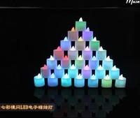 Led candle lamp electronic tea candle led candle eye-lantern wedding candle party lights lighting free shipping