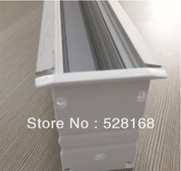 NS-P032 DHL/FEDEX/UPS FREE SHIPPING LED STRIP PROFILE FOR 3528/5050/5630 wide pcb LIGHT CHANEL ALUMINUM EXTRUSION LED CASE LIGHT