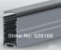 NS-P032 DHL/FEDEX/UPS FREE SHIP 10M LED STRIP PROFILE FOR 3528/5050/5630 wide pcb LIGHT CHANEL ALUMINUM EXTRUSION LED CASE LIGHT