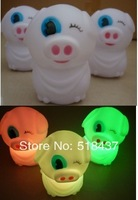 McDull LED lights lamps LED flashing light  illuminations Colorful night light ocellus pig mcdull LED gifts promotional f