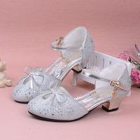 2013 children shoes child high-heeled sandals dance shoes female half child sandals princess single shoes