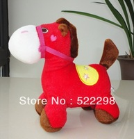 baby toys 30cm 12'' plush horse baby toy new year teddy gift for kid children interactive toys anime toys for girls animals
