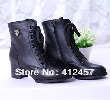 cheap genuine leather boots women