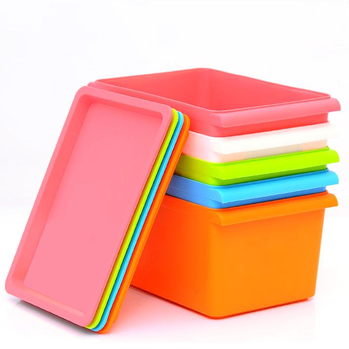 Organisation biblioth que classe vos astuces - Boite de rangement ikea plastique ...
