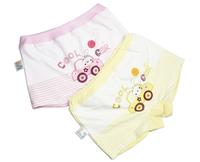 wholesale 5pcs 1 lots Elastic combed cotton female child boxer cute briefs male sissy panties
