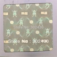 flat laser overlay hologram sticker